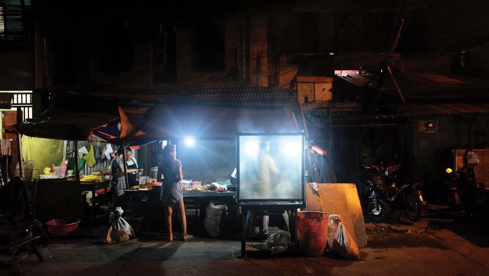 The bar@1951; Manila street food