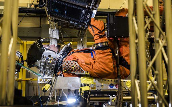NASA Mars project training